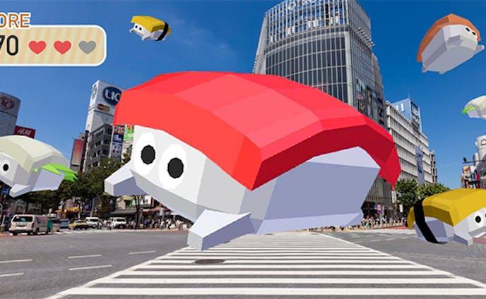 お寿司のキャラクター・3Dモデリング