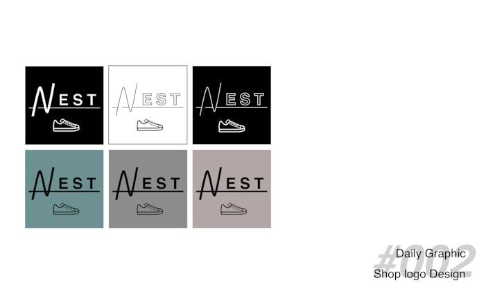 【架空】スニーカーセレクトショップのロゴ
