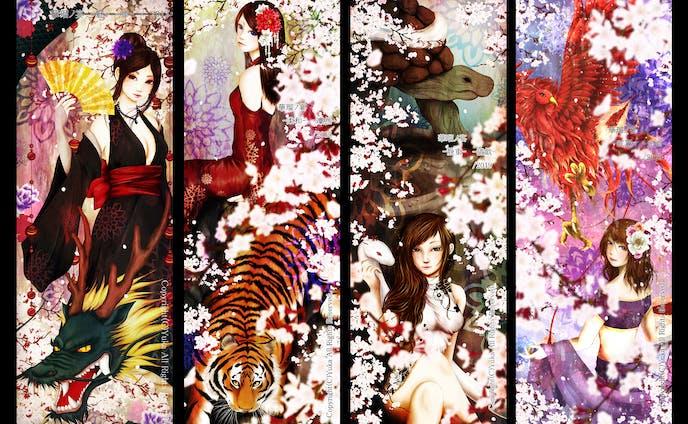 桜Ex2013~2020 出展作品