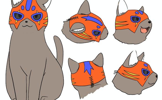 猫_キャラクターデザイン