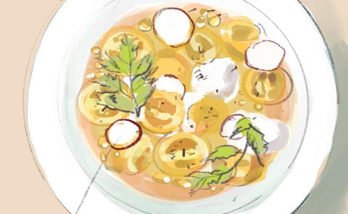 お料理(線画あり)