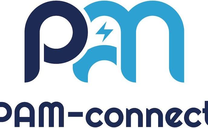 PAM connect さま ロゴデザイン