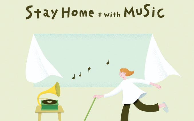 「Stay home #with MUSIC」オリジナル