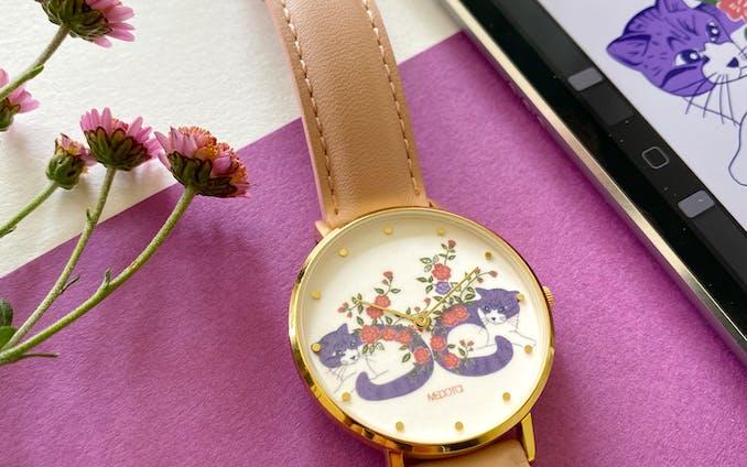 MEDOTA X ÜRIKMAD Pretty Day collection 限定腕時計