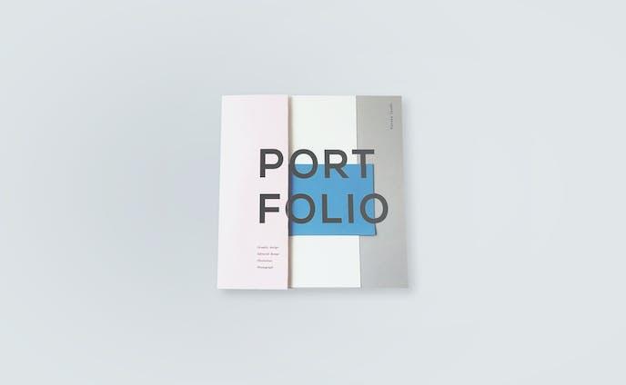 ポートフォリオ ブックデザイン