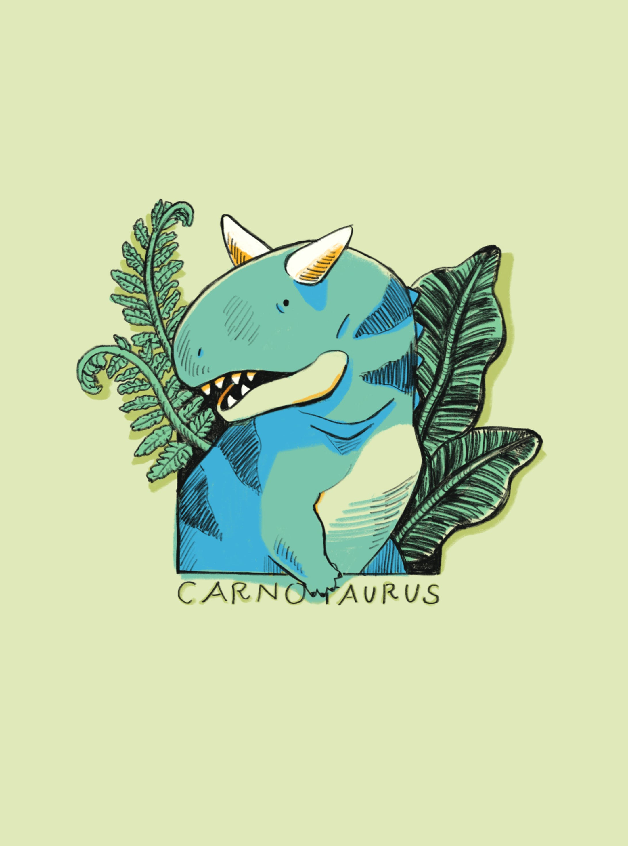 カルノタウルス(iPhoneケース)-2