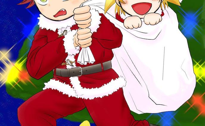ダンキラ!クリスマスイベントイラスト