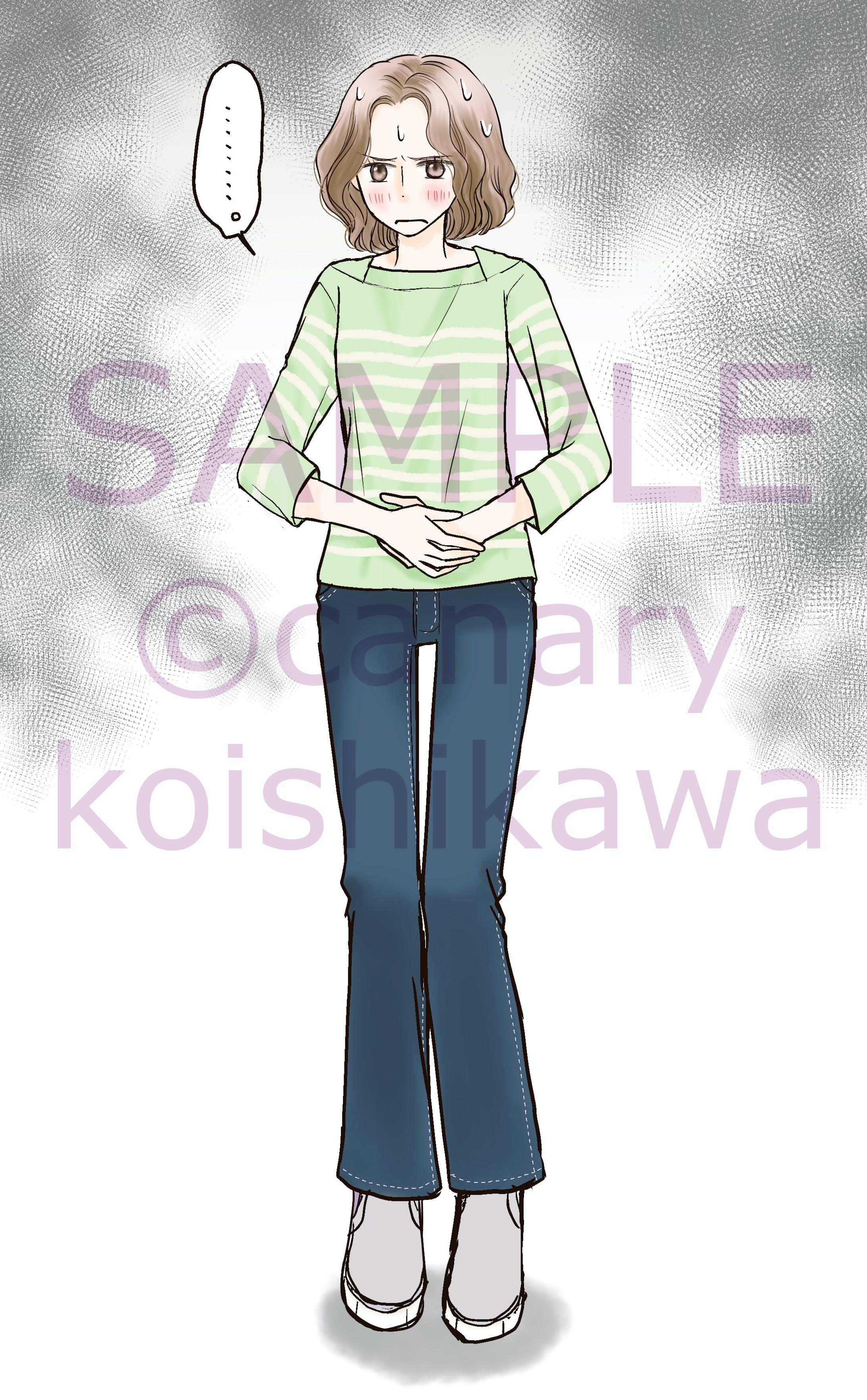 ルナルナ×小林製薬ガスピタン広告漫画・イラスト-2