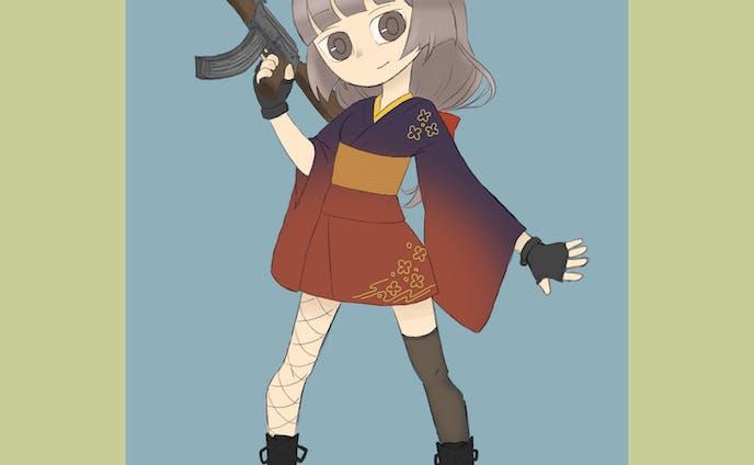 創作女子【AK-47】