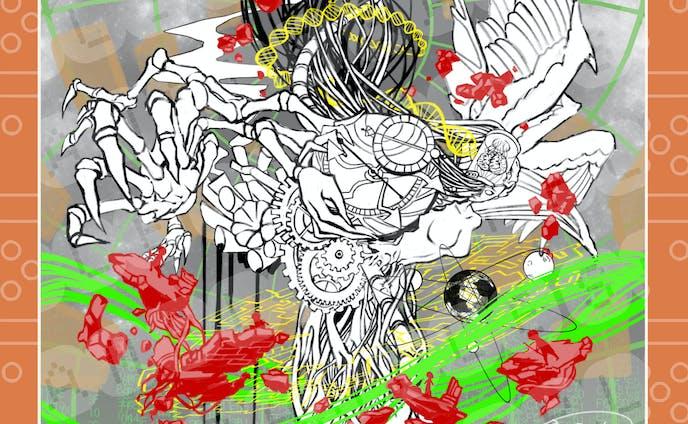 【ご依頼】ラスボスのデザイン/ラフ