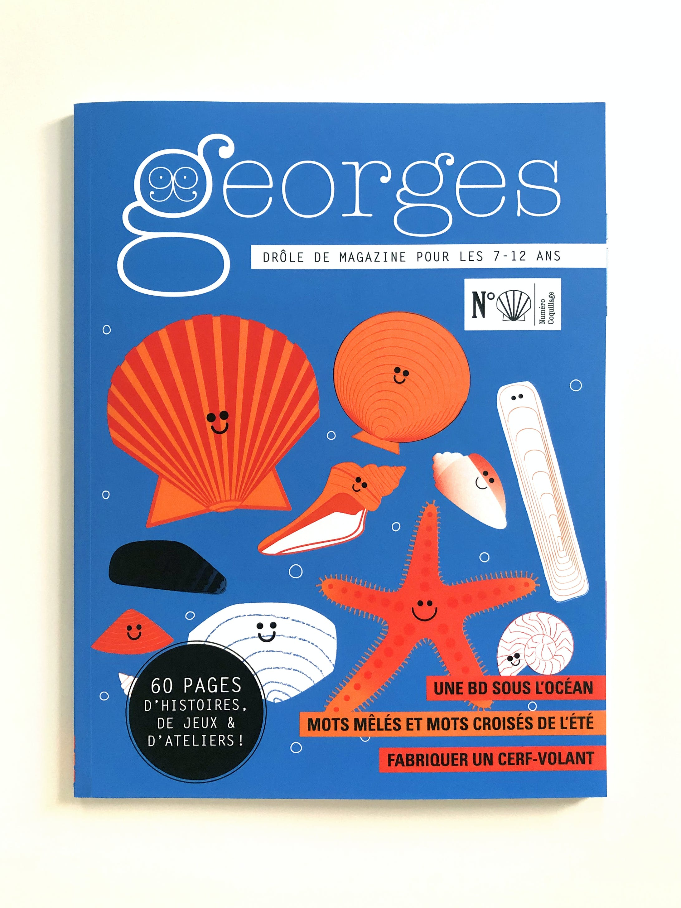 フランスの児童雑誌『Georges』N°Coquillage(Maison Georges)-7