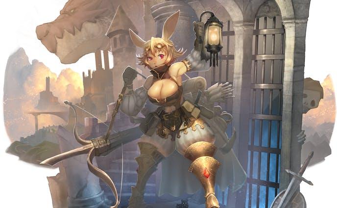 兎の獣人キャラクター