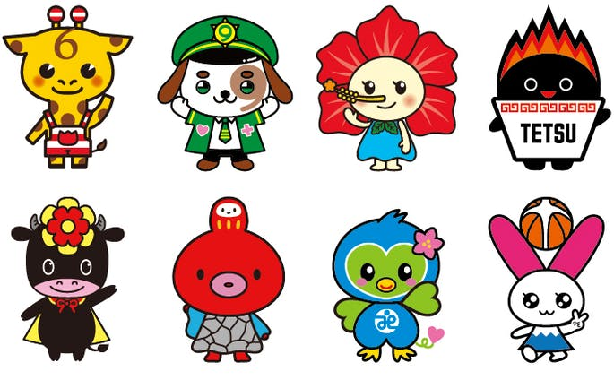 キャラクターデザイン サンプル集