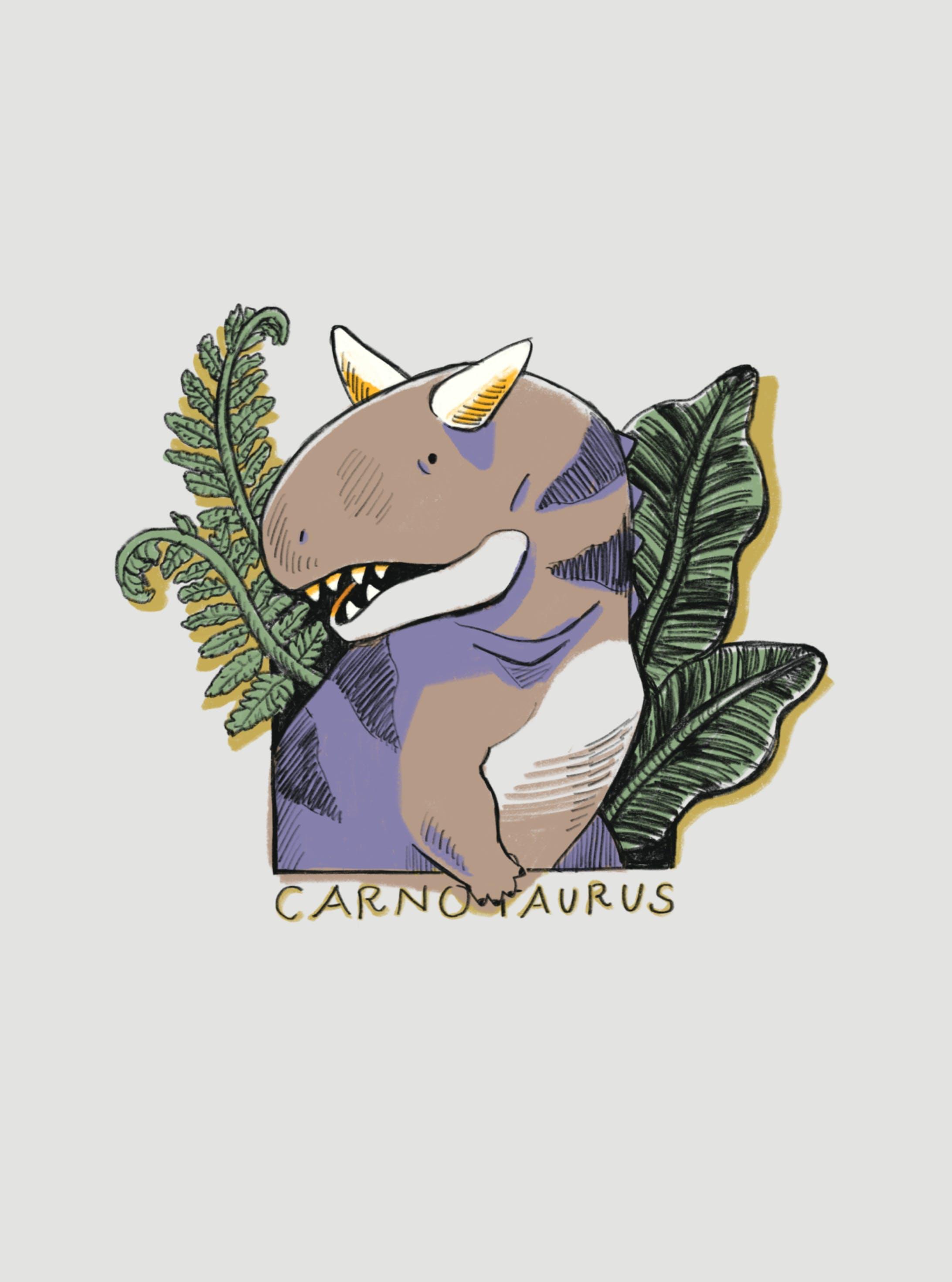カルノタウルス(iPhoneケース)-3