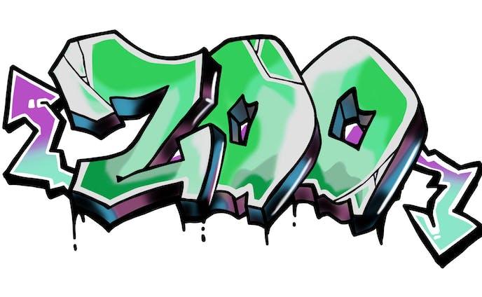 MC ZOO キャップ デザイン