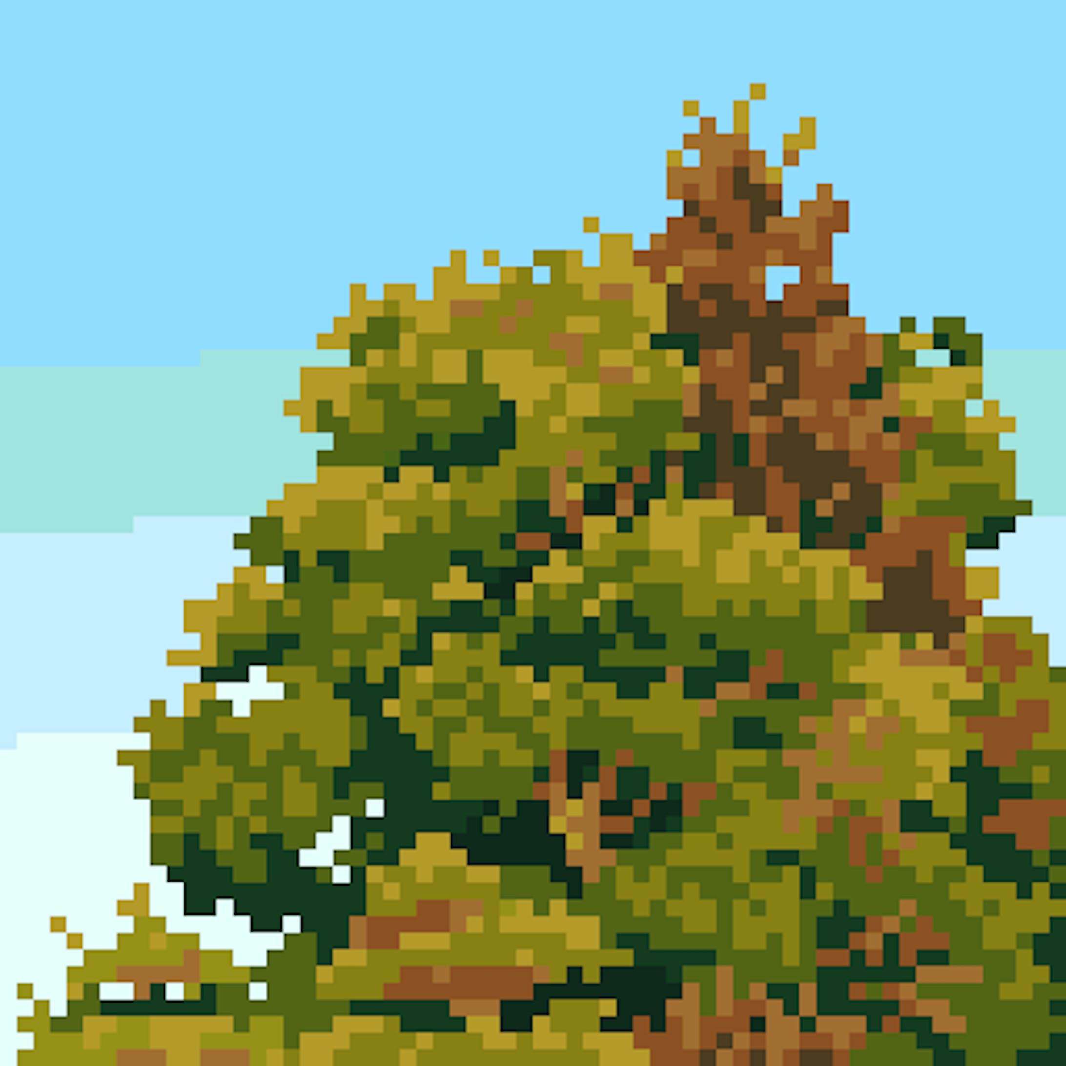 草木のドット絵-4