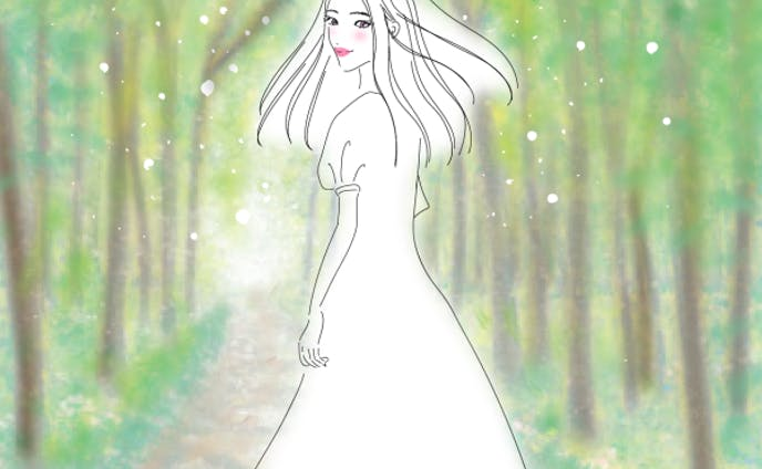 in the woods 森の中で
