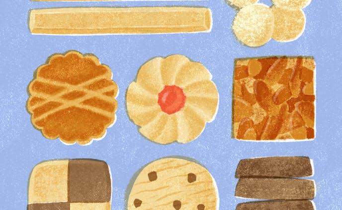 クッキー缶のときめき