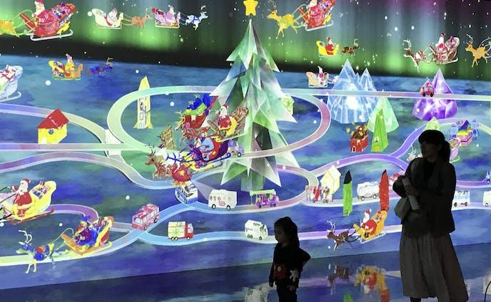 【ニュース】Jヴィレッジで「チームラボ お絵かきクリスマス」 福島県初開催(いわき経済新聞)