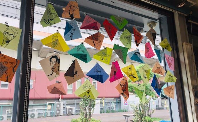 折り紙ドローイング