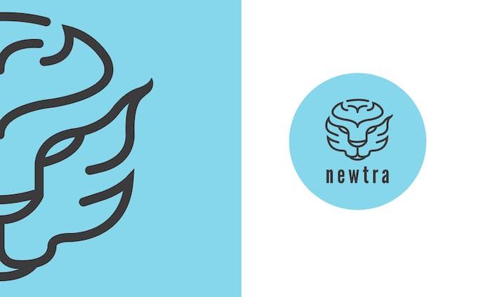 Newtra Protein_Logo Design
