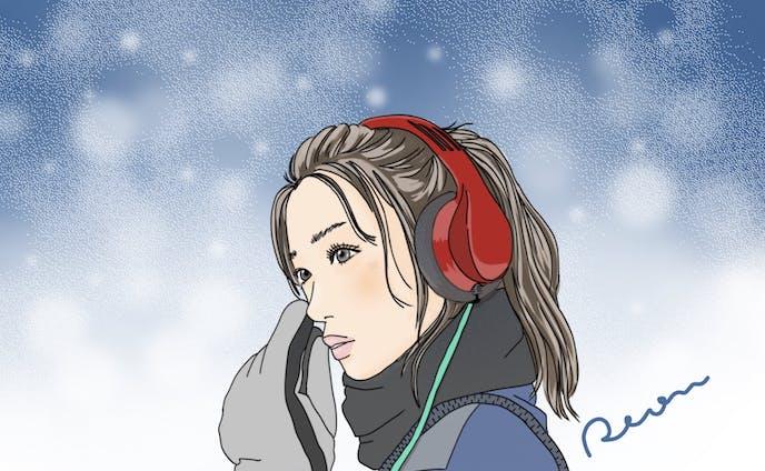冬の帰り道