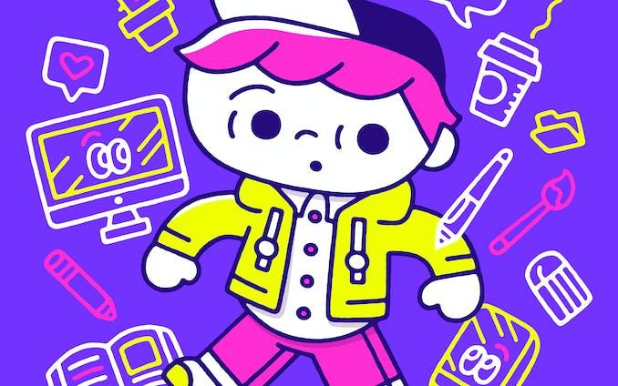 foriio公式キャラクター〈フォリ男〉