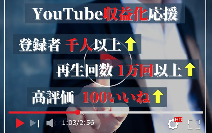 YouTube収益応援セット画像