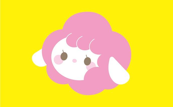 キャラクターデザイン 「Pop clouds」