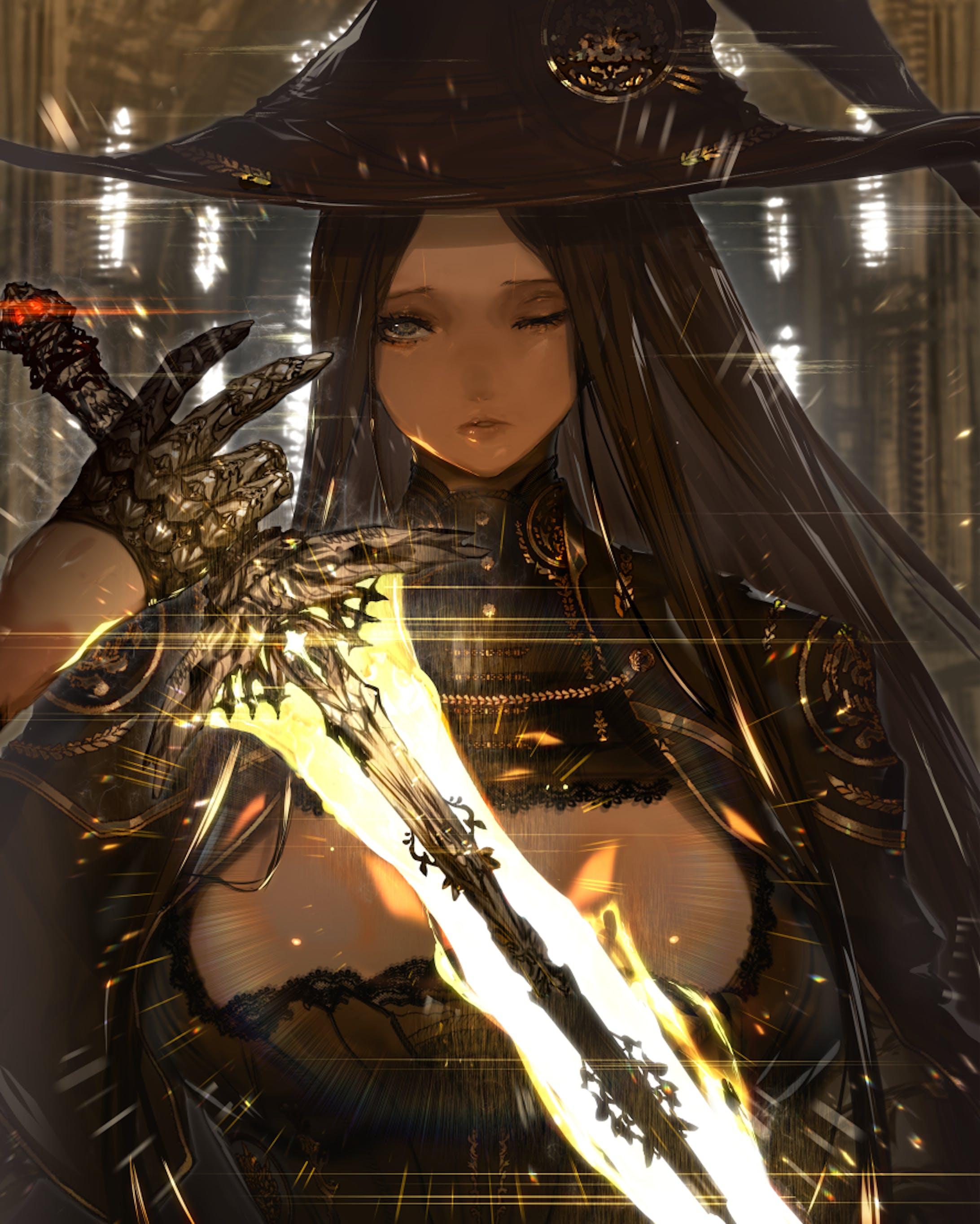 「創作」魔剣の魔女-2