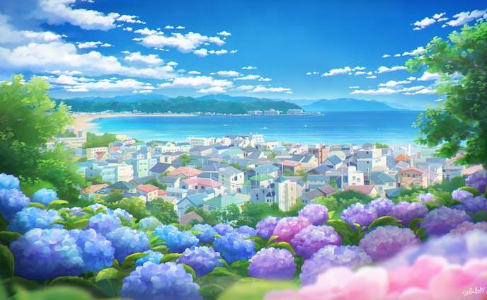 長谷寺から見た風景