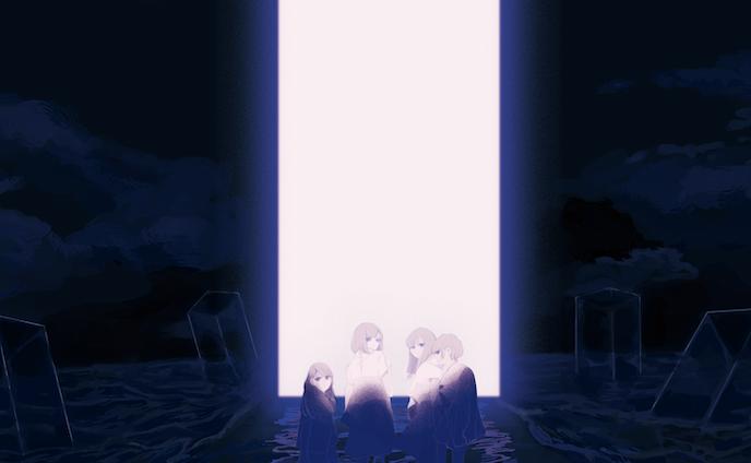 """ヤなことそっとミュート 3rd oneman live """"THE GATE"""" メインビジュアル"""