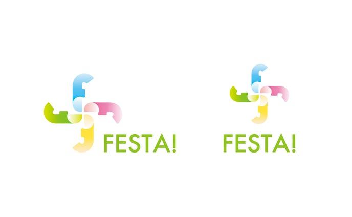 【aest】FESTA!ロゴ