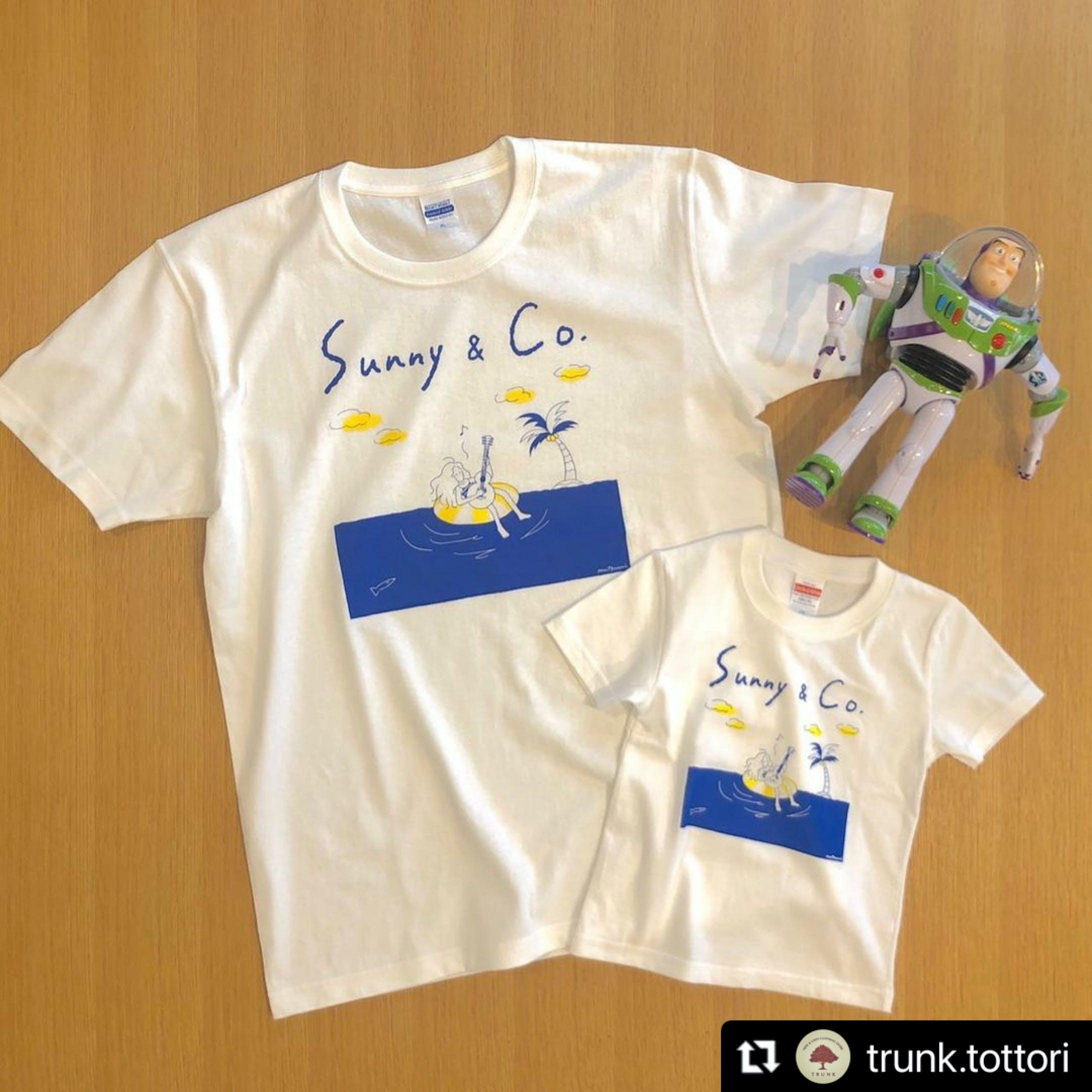 """【Tシャツ】""""Sea & Girl"""" プリントTシャツ『Sunny & Co 』-2"""