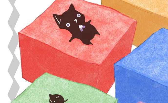 ギモーブと黒猫nya