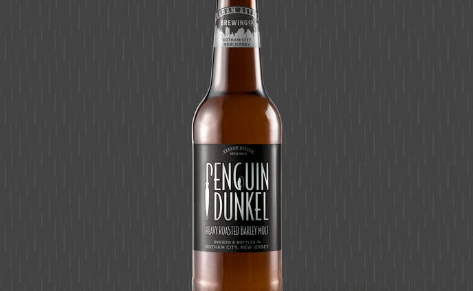 架空のクラフトビール/ペンギン