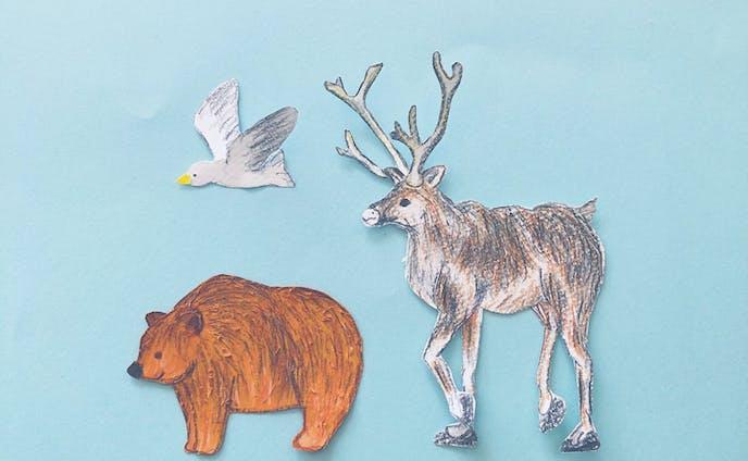 フィンランドの動物たち。