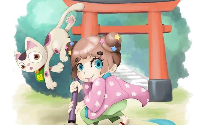 キャラクターデザイン   マンガ「ぬっぺほふたべちゃだめ」