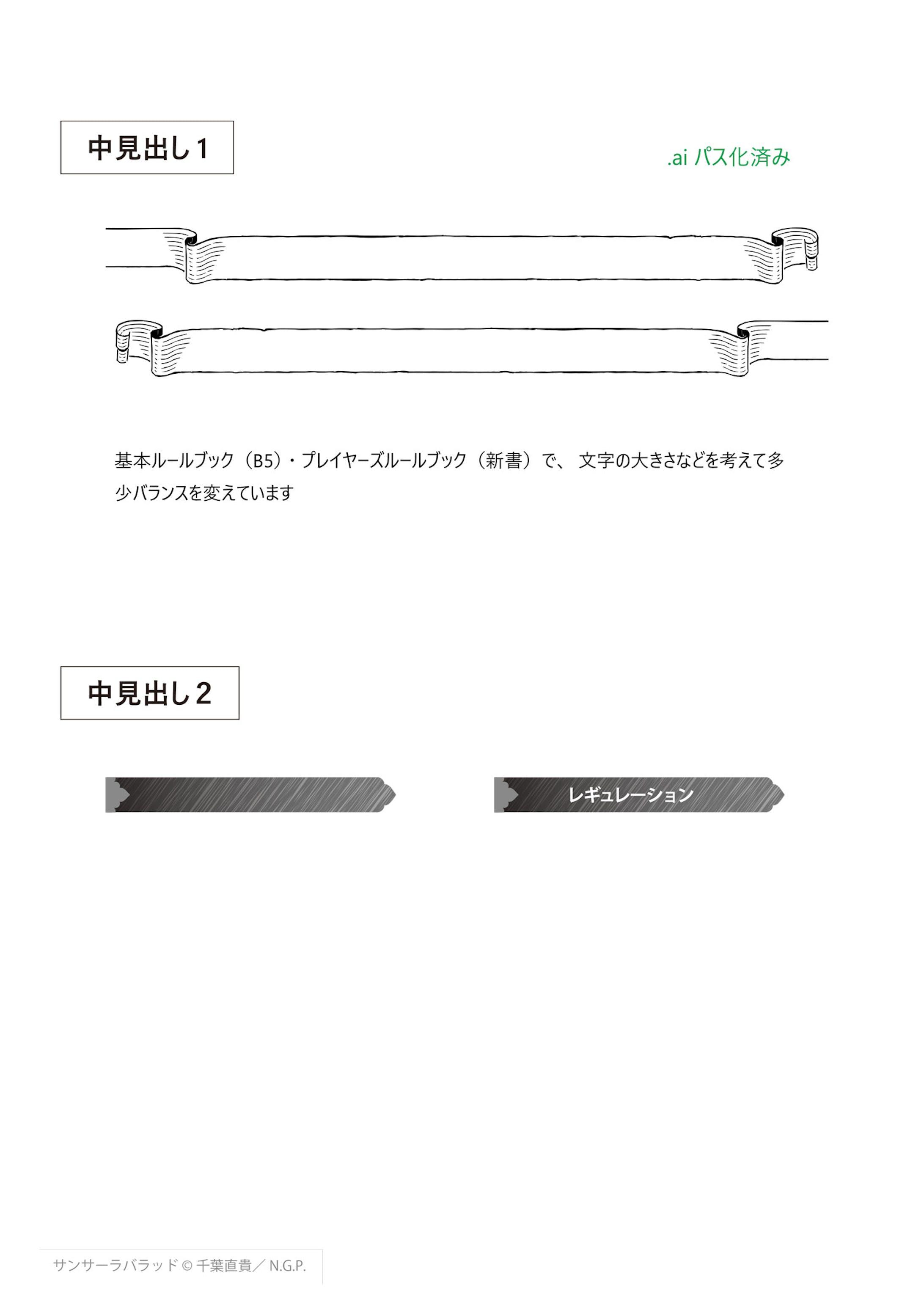 異世界転生RPG サンサーラ・バラッド - 誌面デザイン-8