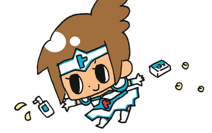 口内炎なおさナイト 「トラフルちゃん」のキャラクター