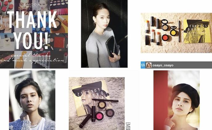 emoda cosmetics Instagram