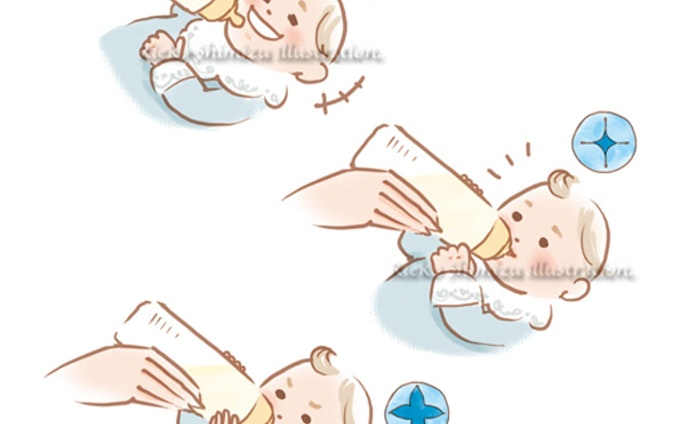 ゼクシィBaby赤ちゃんイラスト