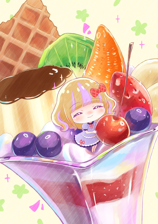 フルーツいっぱいプリンパフェ-1