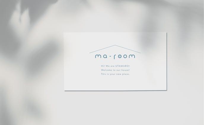 ma-room ロゴデザイン