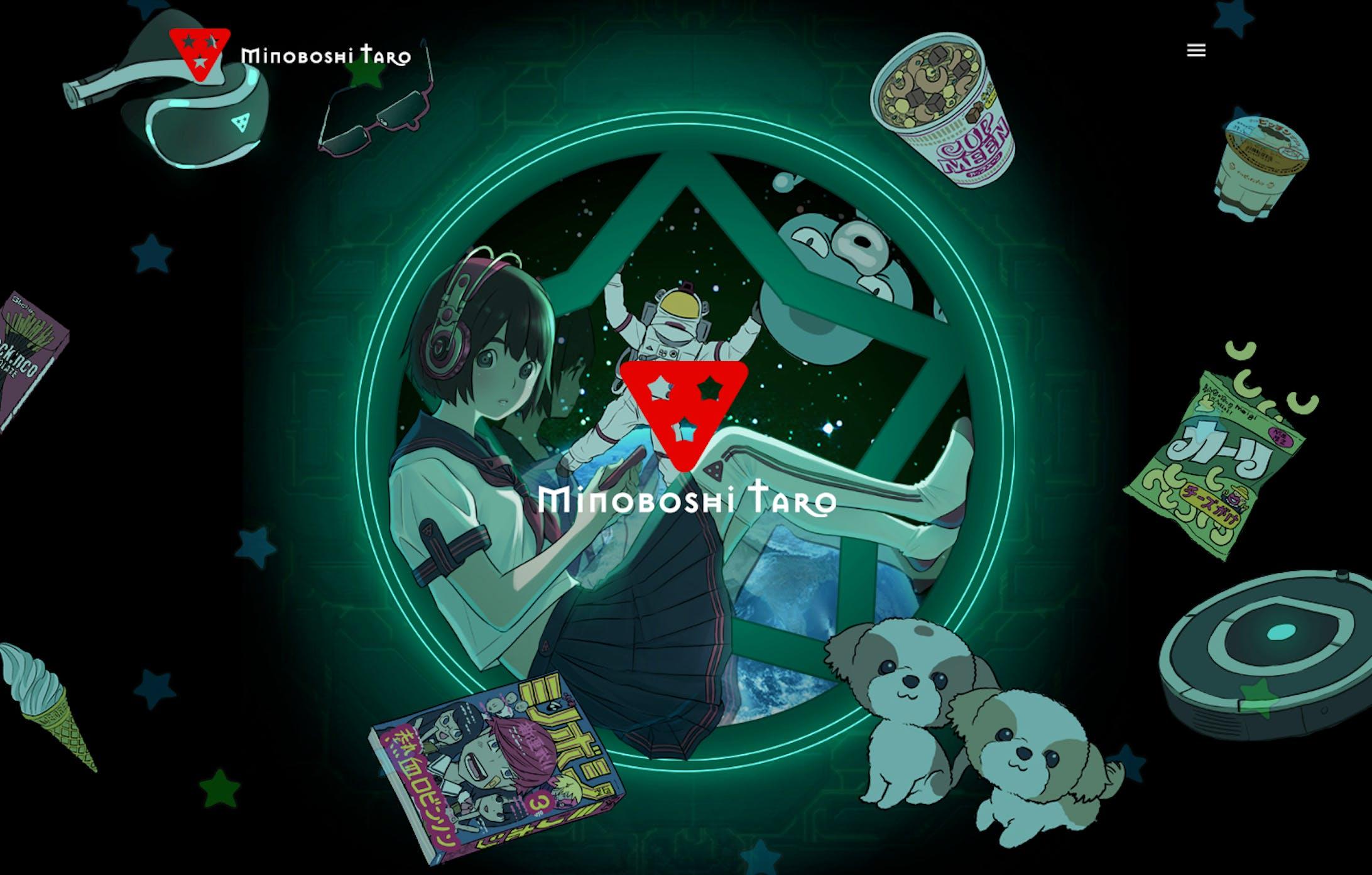 Minoboshi Taro's official website-1