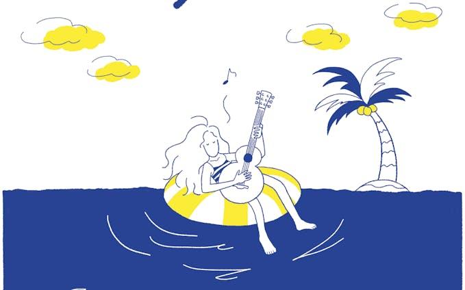"""【Tシャツ】""""Sea & Girl"""" プリントTシャツ『Sunny & Co 』"""