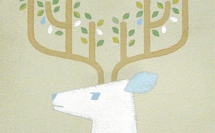 ラベルイラスト/自然の恵み