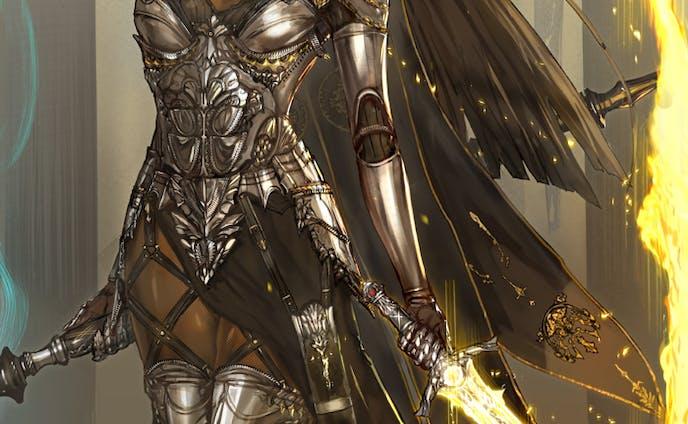 「創作」魔剣の魔女