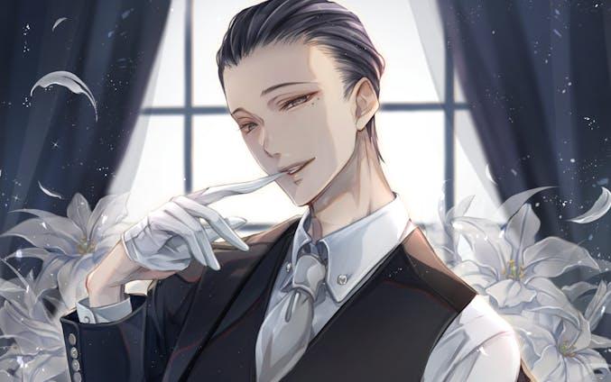【お仕事】花葬痕をなぞる(3枚)