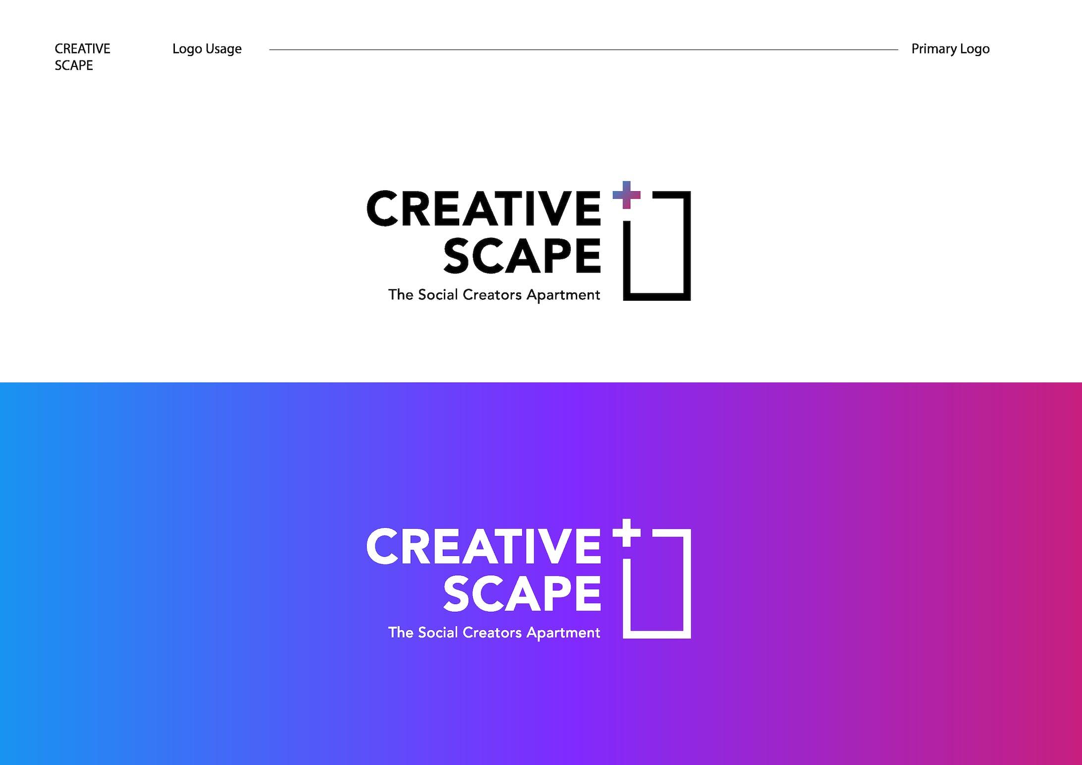 Creative Scape logo design-2